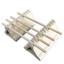 Low Profile Ceramic Bead Rack