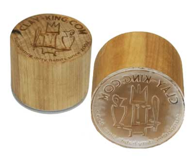 Clay-King Custom Stamp