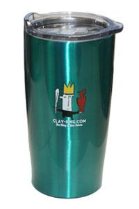 Clay-King Insulated Travel Mug