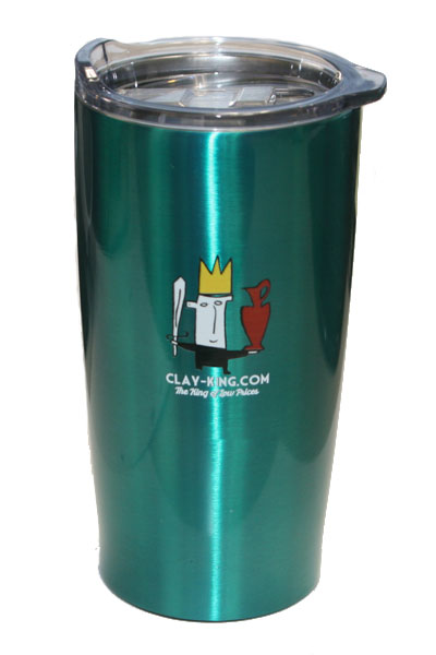 Clay King Insulated Travel Mug