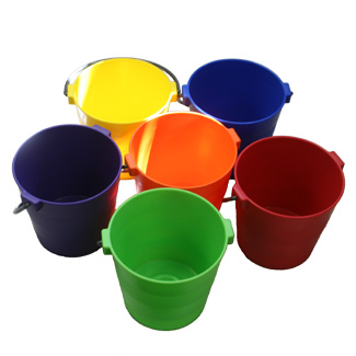 Colored Craft Buckets - Assorted Colors