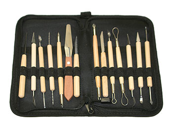 14pc Pottery Tool Set CTK01-02