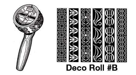 Deco Roll #B