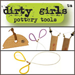 Dirty Girl Pottery Tools