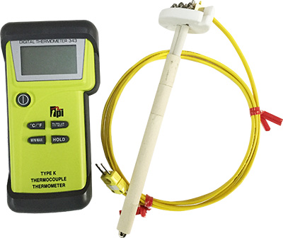 Kiln Digital and Analog Pyrometers at discount prices - Clay-King.com