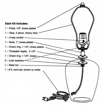 Electric Lamp Kit