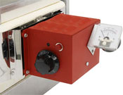 Evenheat Manual Control and Analog Pyrometer