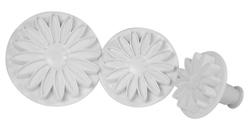 Artisan Flower Cutter and Plunger 3pc Set A102
