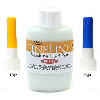 FineLine Masking Fluid Pen Refill