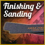 Finishing and Sanding Tools