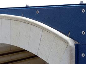 L&L Hercules Arch Brick Detail w/ Heavy Duty Gasket
