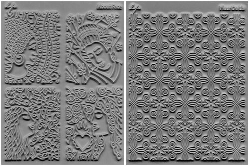 Lisa Palvelka Stamp Adornments Set