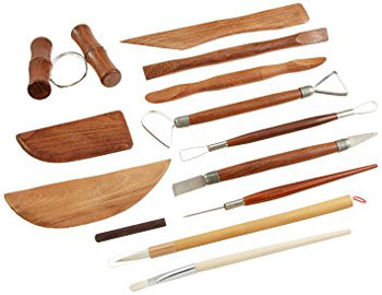 Jack Richeson 12pc Deluxe Pottery Tool Set