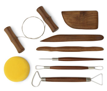 Jack Richeson 8pc Deluxe Pottery Tool Set