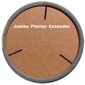 Jumbo Platter Extender for Giffin Grip on Sale Today