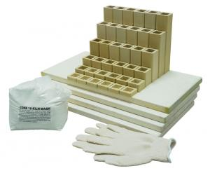 L&L Easy Fire XT Square Kiln Shelf Kit