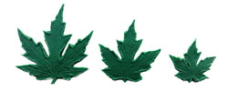 Maple Leaf Pattern Set 5/3/2 inch