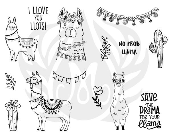 Mayco Designer Silkscreen DSS-156 Llama Drama