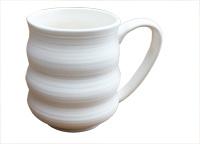 Stoneware Wavy Mug