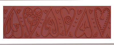 Mayco ST-105 Dancing Heart Stamp