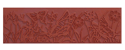 Mayco ST-109 Butterfly Garden Stamp