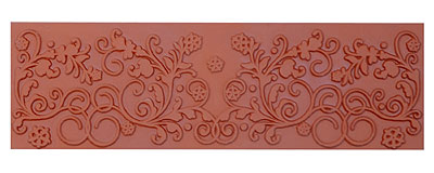 Mayco ST-116 Floral Flourish Stamp