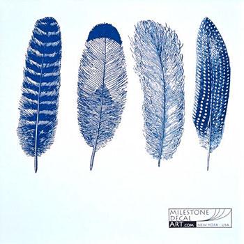 Milestone Decal Art ANFH-Blue