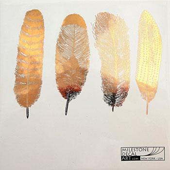 Milestone Decal Art ANFH-Gold