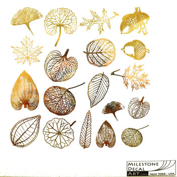 Milestone Decal Art BTLV-Gold