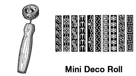 Mini Deco Roll