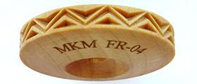 MKM FingerRoller FR-04 Fancy Zigzag