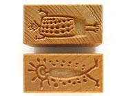 MKM/PMC Rectangular Stamp SRM-80