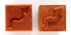 MKM/PMC Square Stamp SSM-170