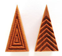 MKM/PMC Triangular Stamp STM-T2