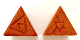MKM/PMC Triangular Stamp STM-01