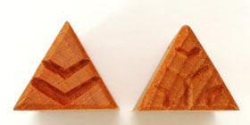 MKM/PMC Triangular Stamp STM-10