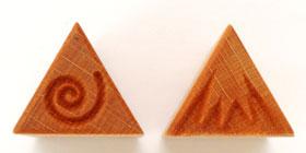 MKM/PMC Triangular Stamp STM-07