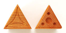 MKM/PMC Triangular Stamp STM-09