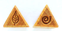 MKM/PMC Triangular Stamp STS-5