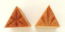 MKM/PMC Triangular Stamp STS-6