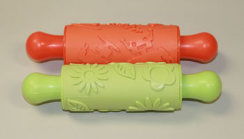 PC-U162122 Rubber Patterned Roller Set of 2