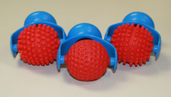 PC-U16874 Ball Shaped Roller Set of 3