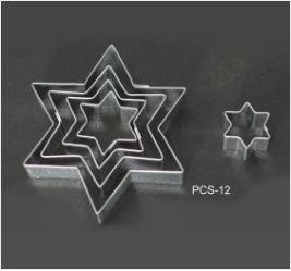 PCS12 Star Cutter Set - 5 pieces