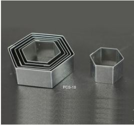 PCS18 Hexagon Cutter Set - 6 pieces