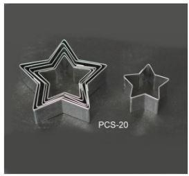 PCS20 Star Cutter Set - 6 pieces
