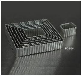 PCS26 Wavy Squares Cutter Set - 8 pieces
