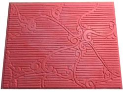 Pottery PTQ45 Rococo Rubber Texture Mat