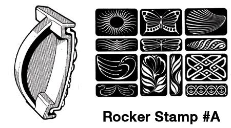 Rocker Stamp #A