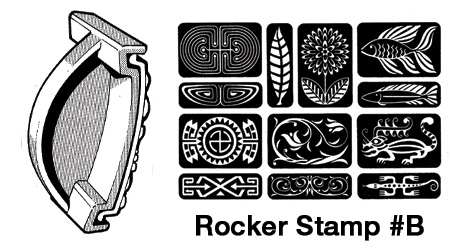 Rocker Stamp #B