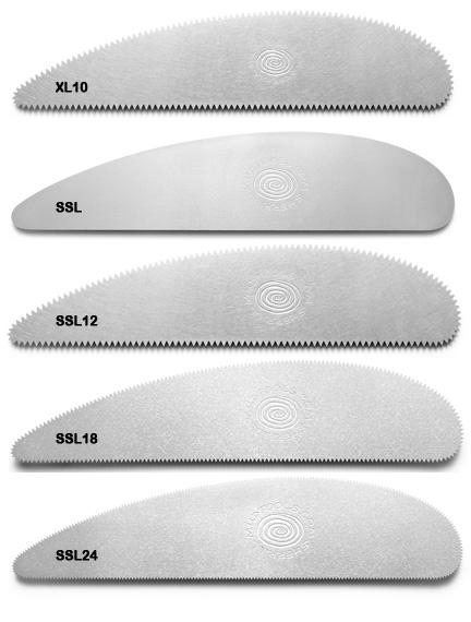 Long Stainless Steel Scrapers
